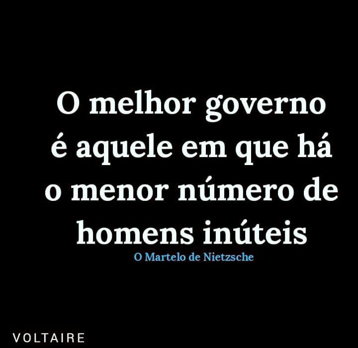 o melhor governo